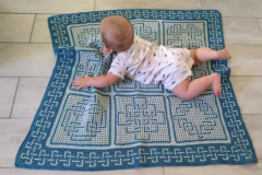 Play mat with Eamhair kit made by Alette Steyl