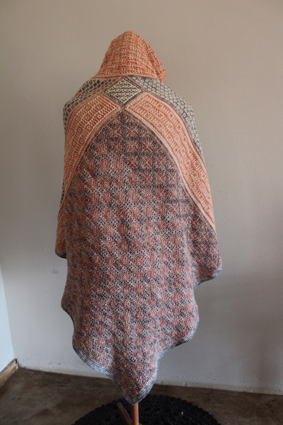 Wacky Weave La Loba - a cape for the Wild Woman Archetype